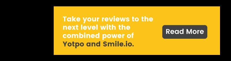customer reviews for ecommerce yotpo integration CTA