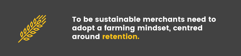 repeat business farming mindset