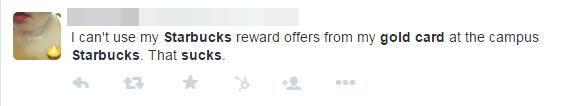social media starbucks suggestion tweet