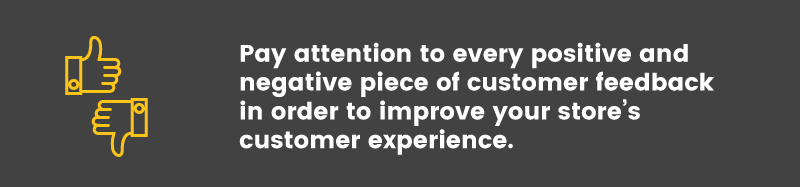 increase customer lifetime value negative feedback