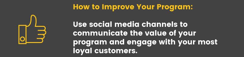 loyalty program is ineffective social media