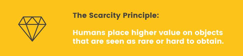 scarcity principle