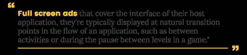 site traffic interstitial definition