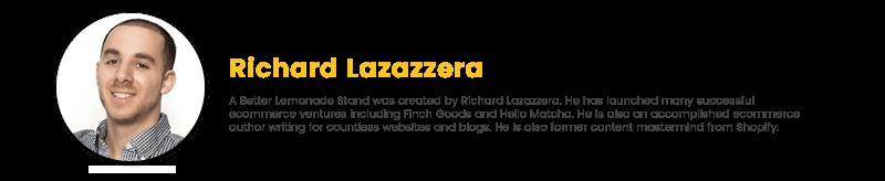 ecom expert richard lazazzera