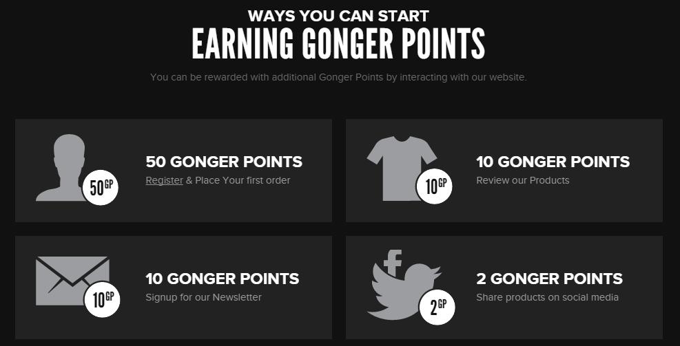 join your loyalty program gonger explainer
