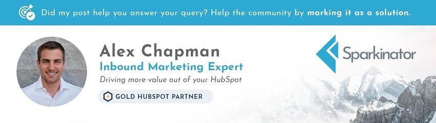 Alex Chapman | Inbound marketing Expert