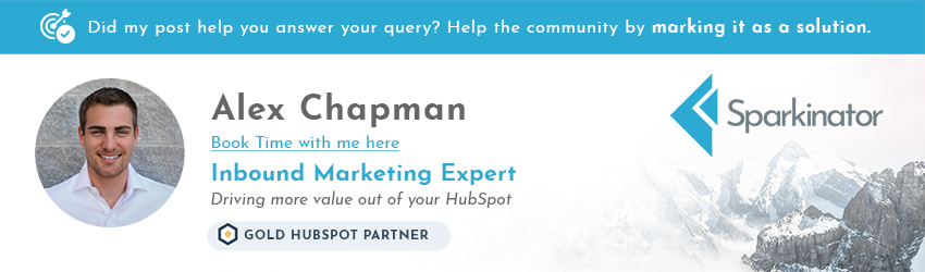 Alex Chapman | Inbound marketing Expert