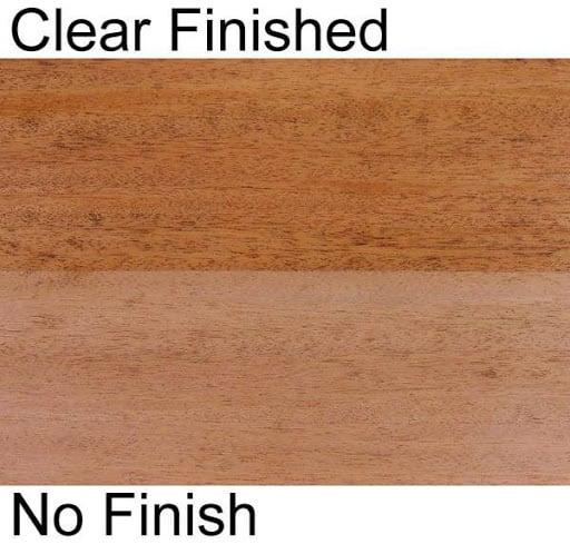 African Mahogany lumber close-up