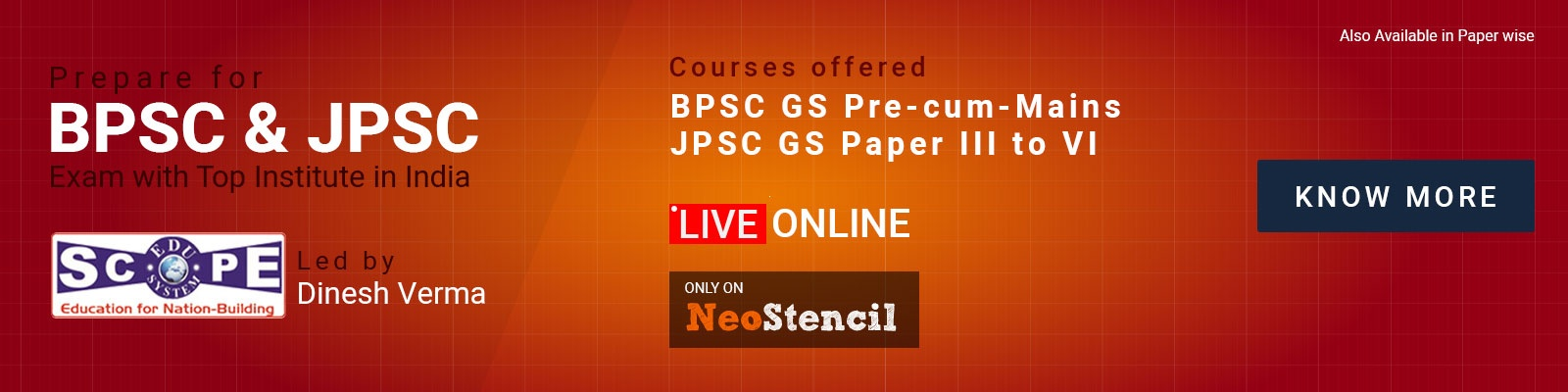 BPSC and JPSC Online courses