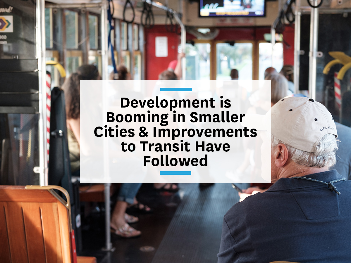 Mobility public transit drive development in cities younger generations
