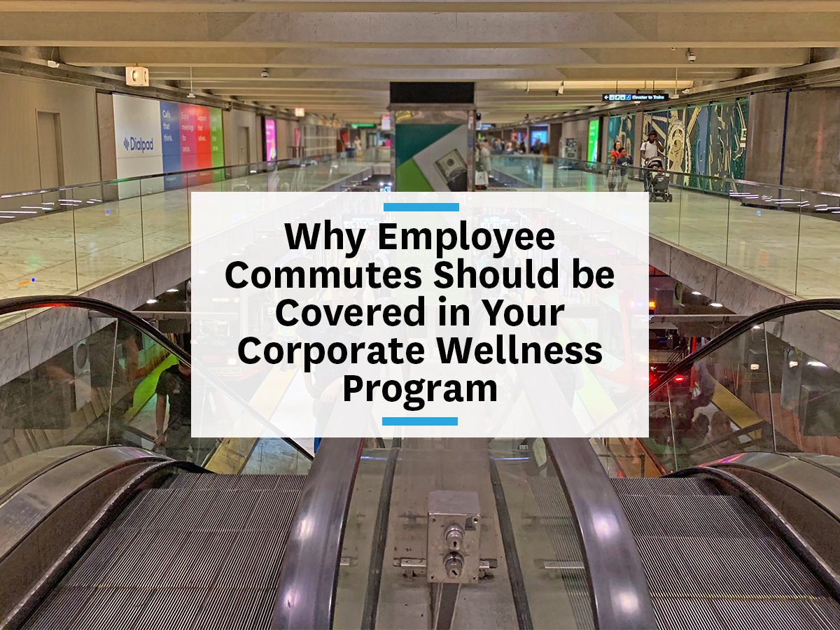 Including employee commutes in corporate wellness programs mental health