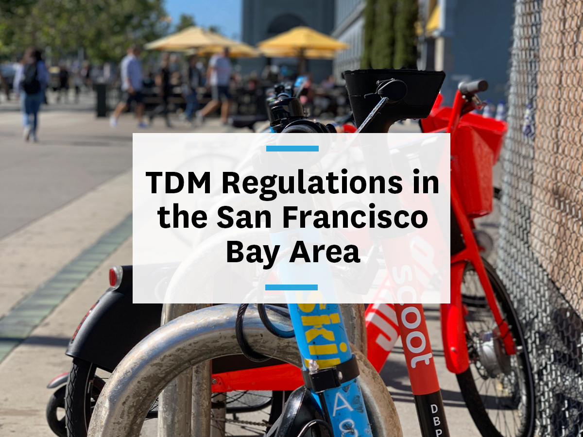 TDM requirements San Francisco Bay Area