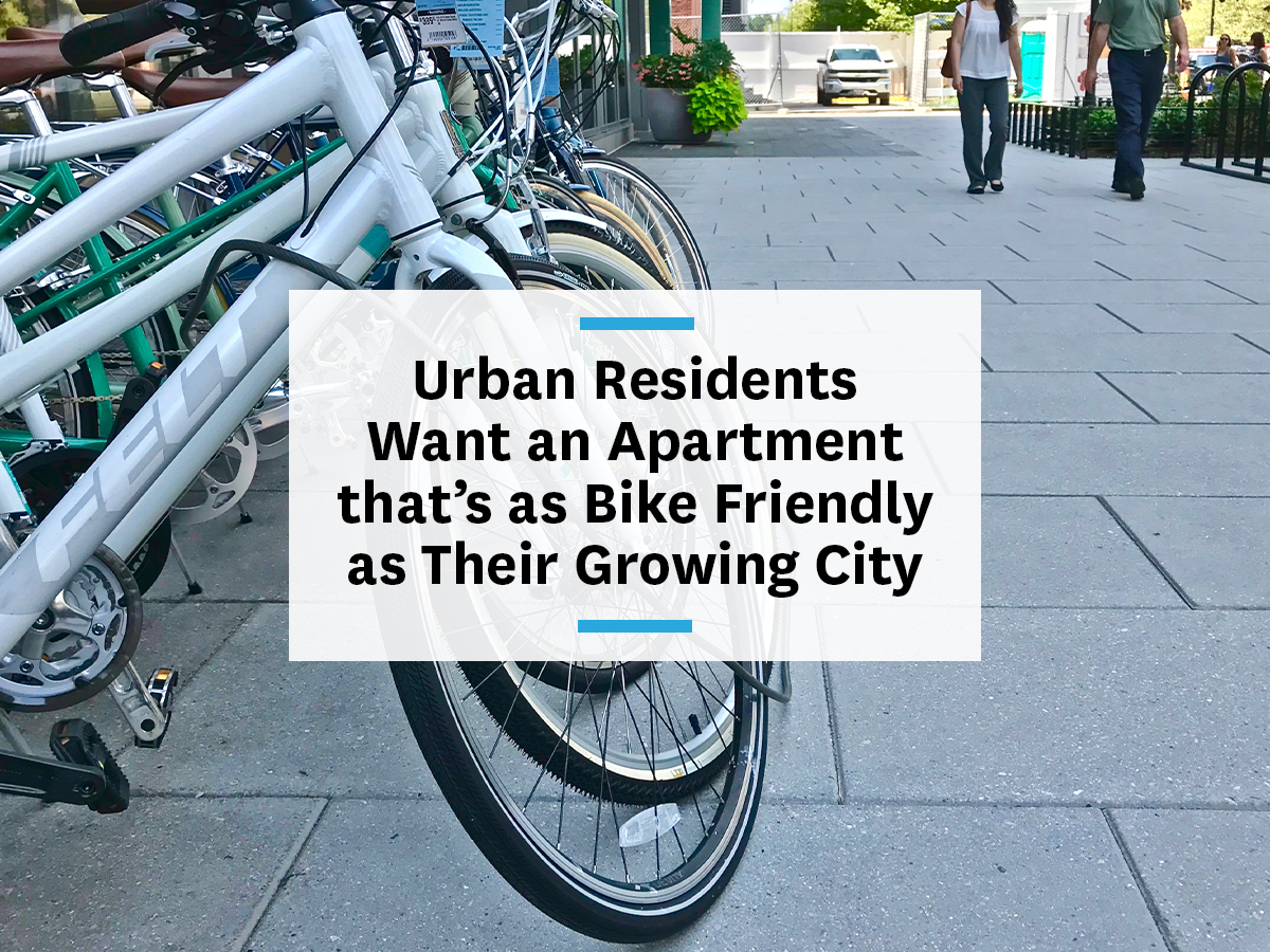bike friendly apartment building features for TDM and commuting for residents