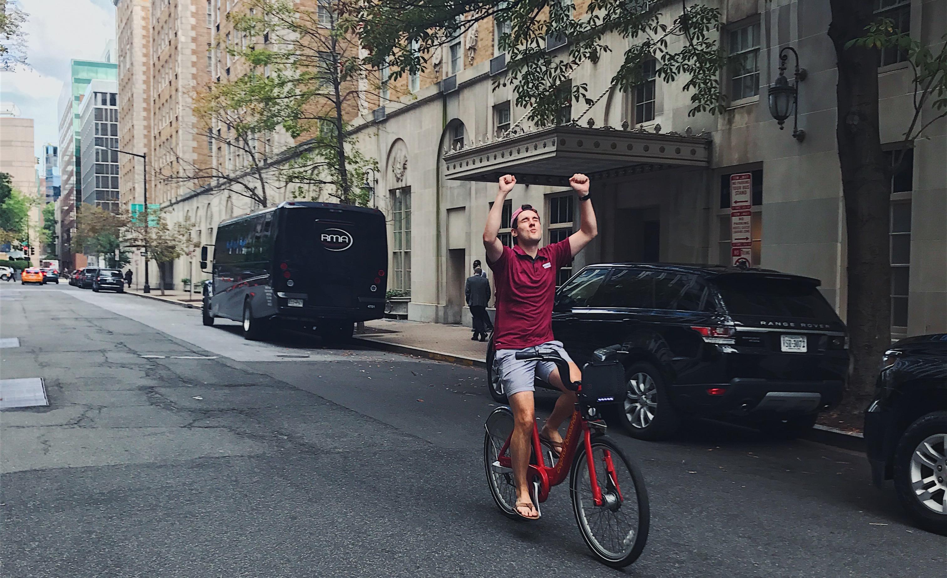 colin-on-bikeshare-bike-mobility-city