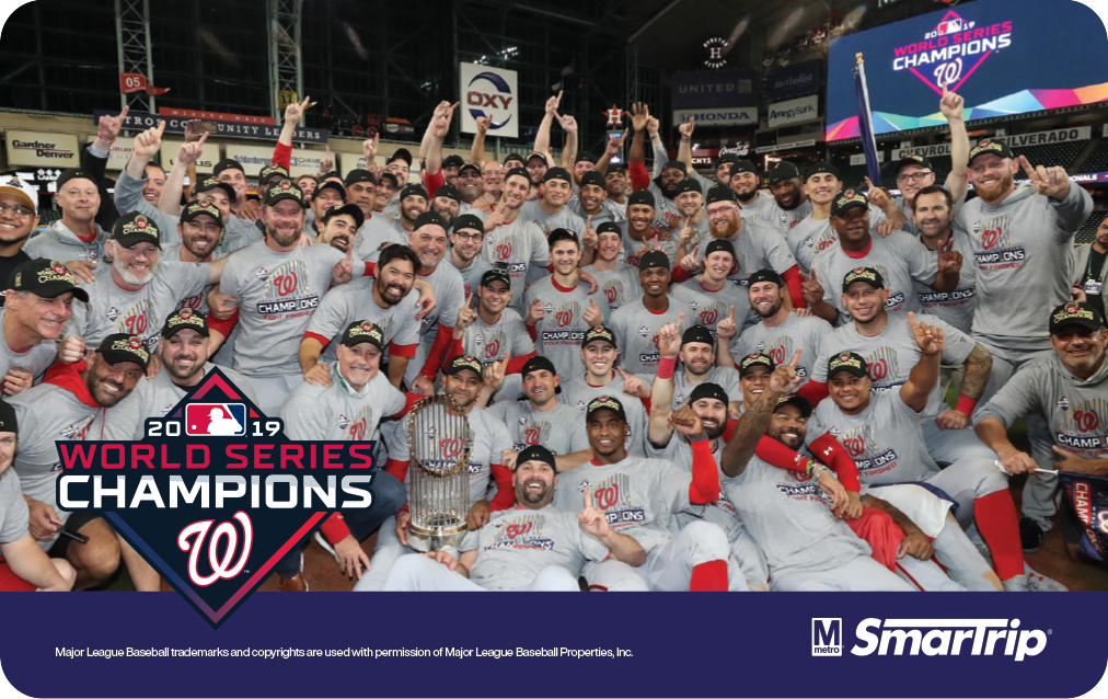 Commuter gift guide Metro World Series SmarTrip Card