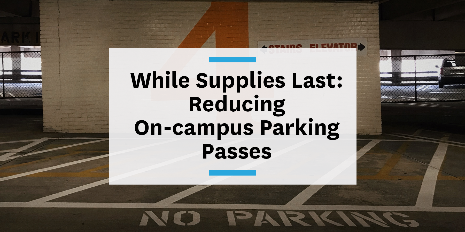 Universities reducing on-campus parking for sustainable commutes and TDM measures