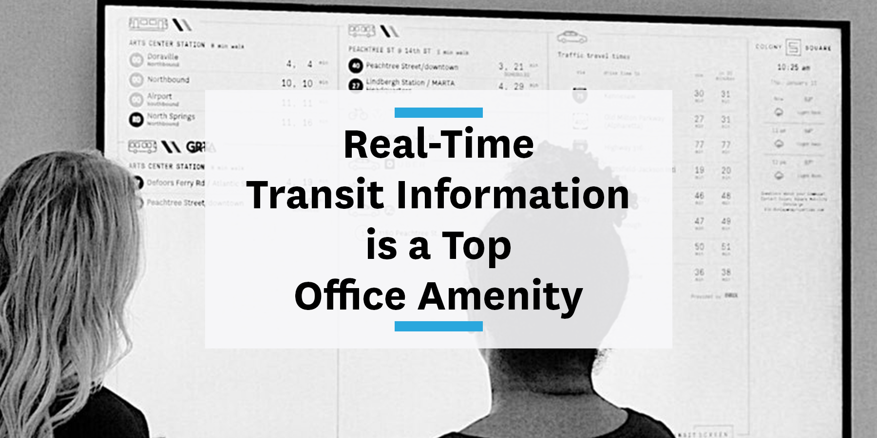 Real-time transit information is top office amenity for your commute management strategy