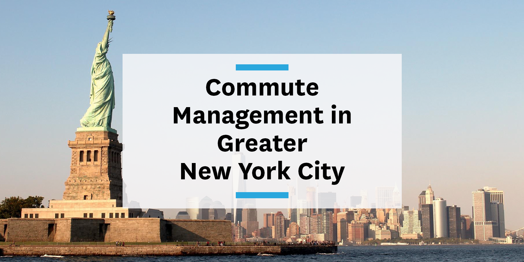 Transitblog - building a commute management strategy in the greater New York City area