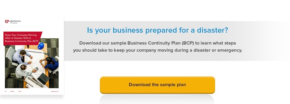 business continuity plan bcp