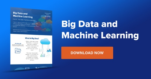 Big Data and Machine Learning Infographic