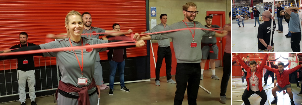 Movement team building