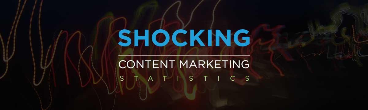 Shocking content marketing stats