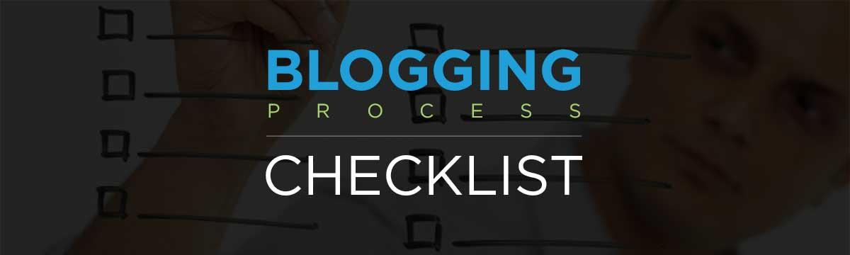 Sprk'd blogging process checklist