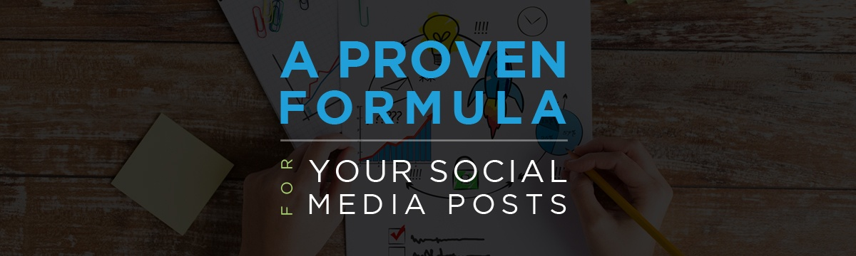 A proven formula for your social media posts