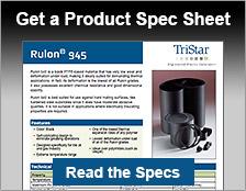 Rulon 945 Bearings | Low Deformation | TriStar Plastics