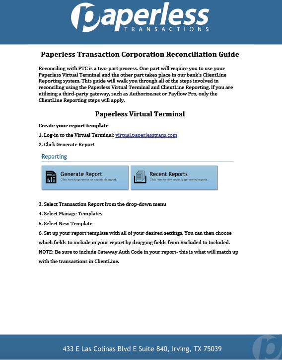 Recon Guide Screen Shot