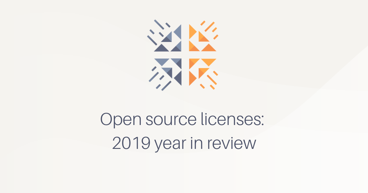 Open source licenses: 2019 year in review