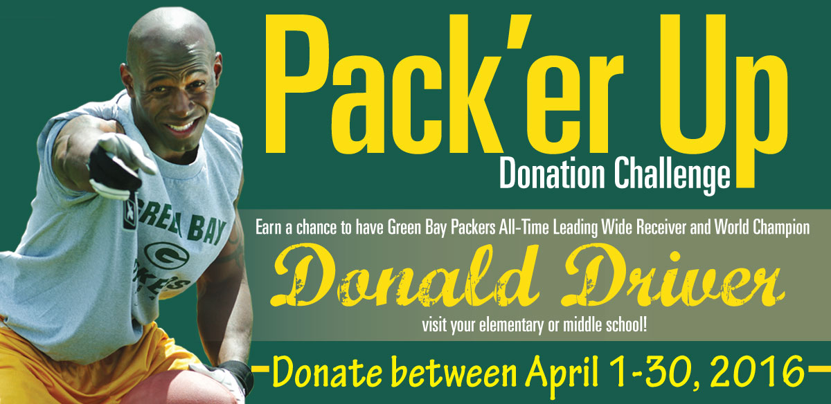 Goodwill Pack'er Up Donation Challenge