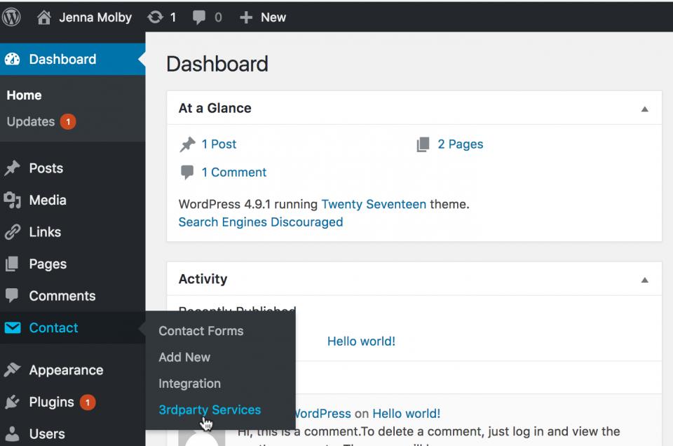 Pardot Integration on Wordpress Website - Step 4