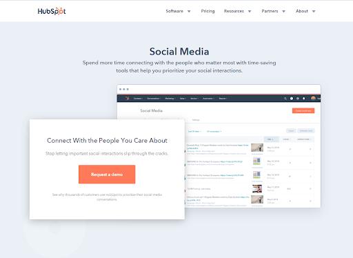 Social Media Platform On HubSpot