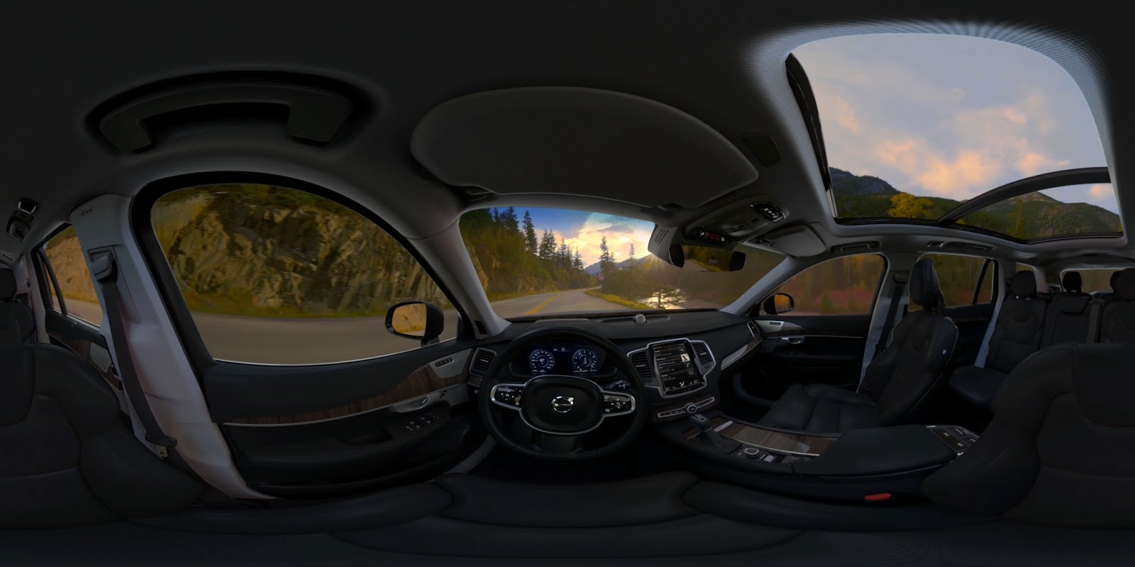 Volvo Test Drive - Virtual Reality