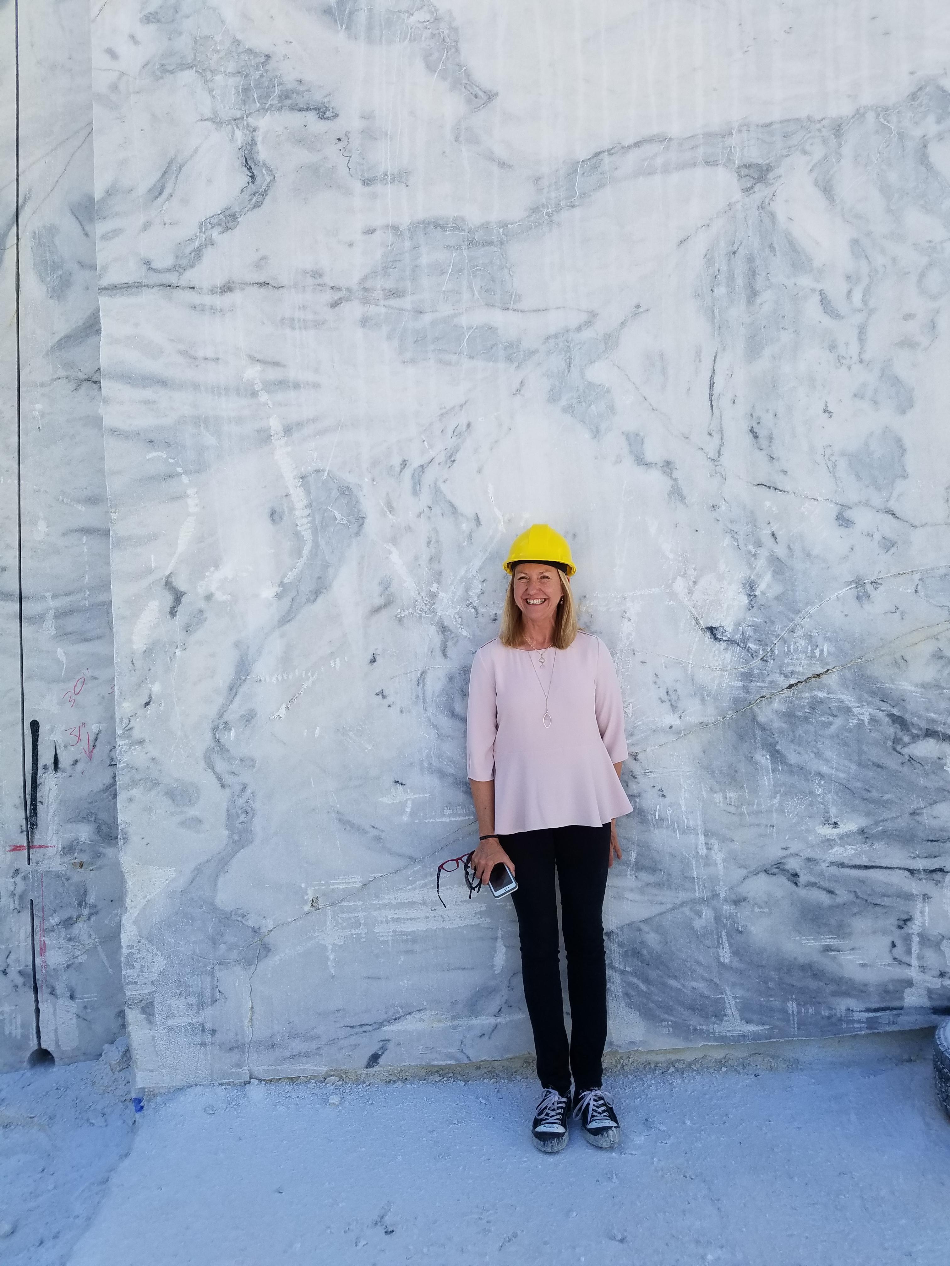 Inside Look: Winning Designers Visit Georgia Marble Quarry