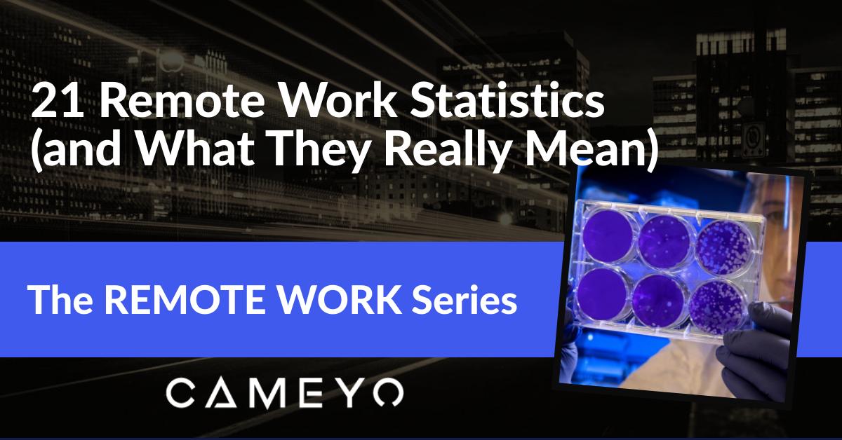 21 remote Work Stats