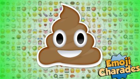 Poop emoji from Emoji Charades