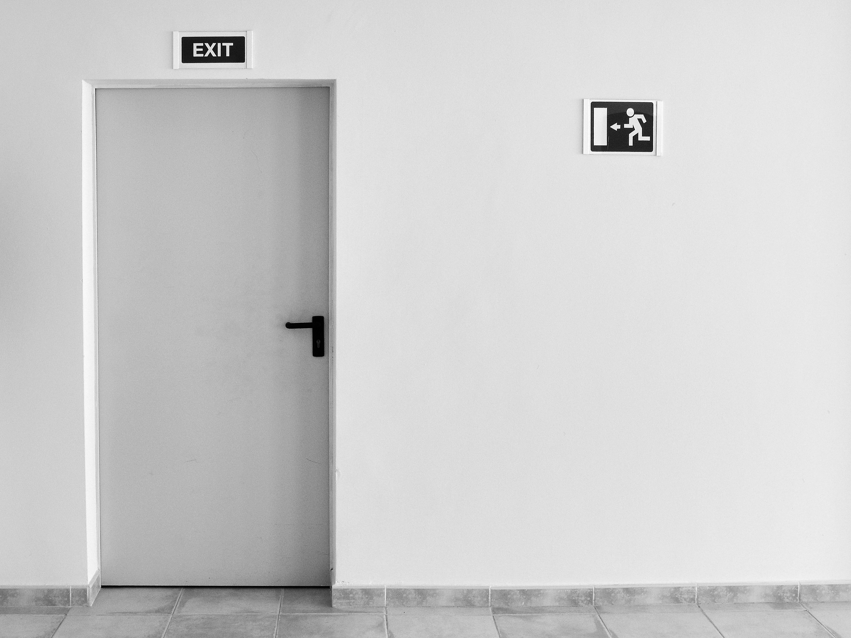 fire safety exit