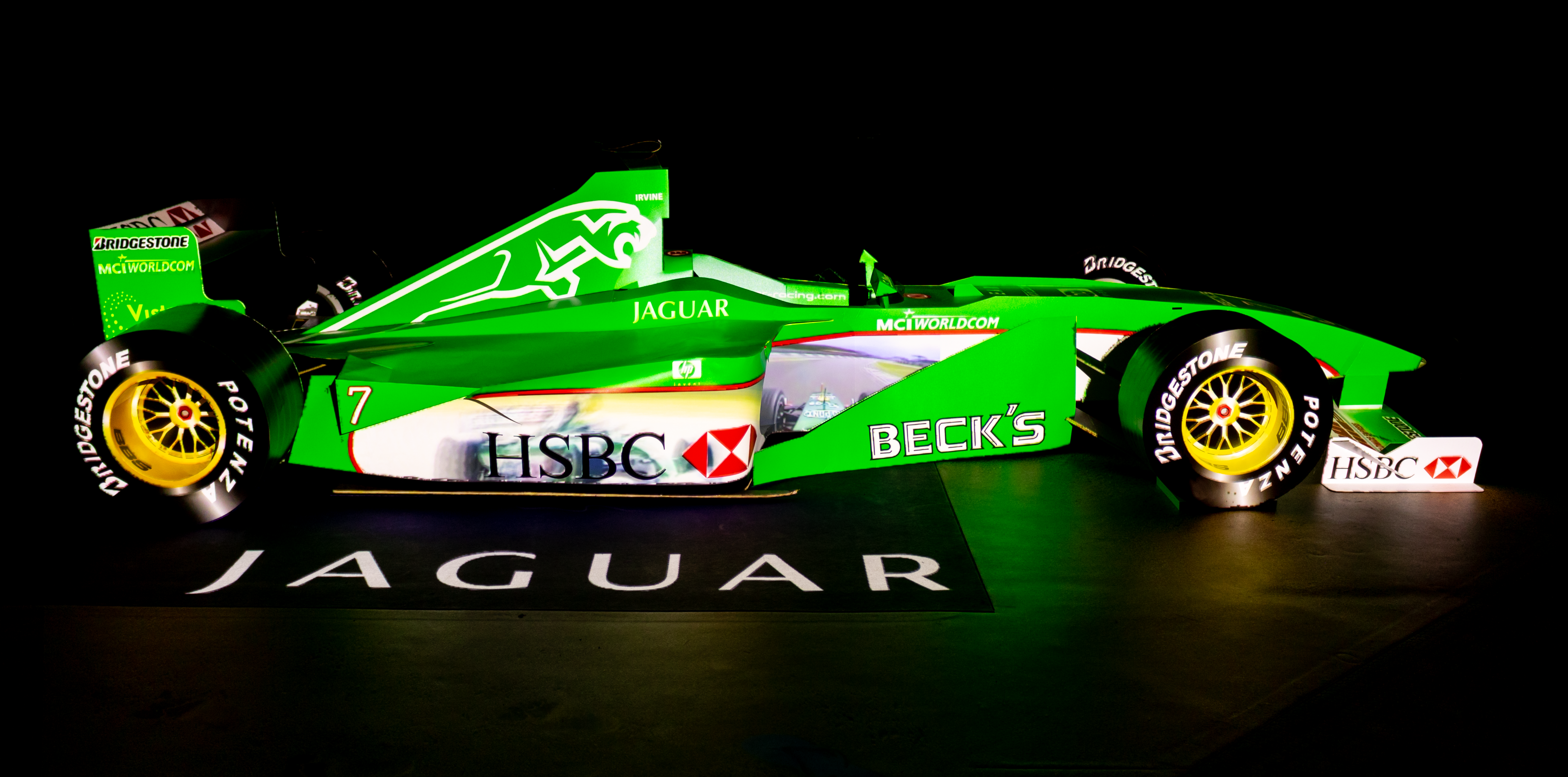 Jaguar F1 Projection Mapping