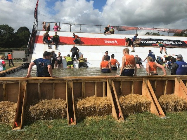 Dominion tackle Everest 2.0 at Tough Mudder