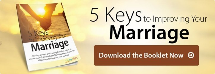 5 Keys to Improving Your Marriage. Download Free Booklet