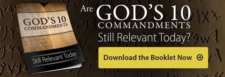 10 Commandments List - Life, Hope & Truth