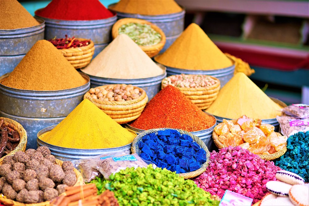 Morocco food, spices and culture
