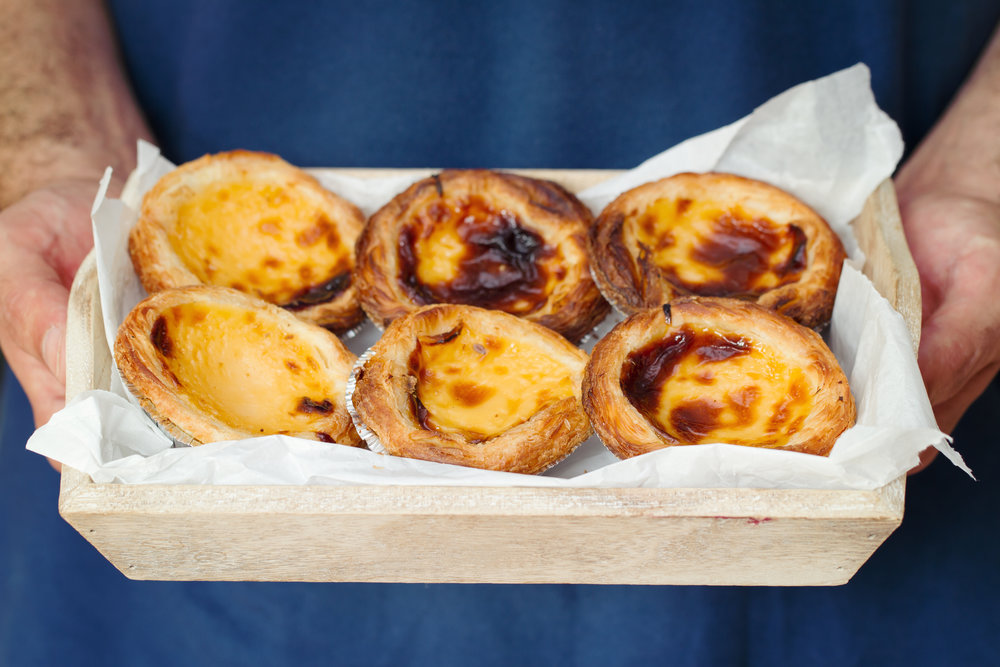 Pasteis de Nata - the delicious pastry of Portugal in Lisbon