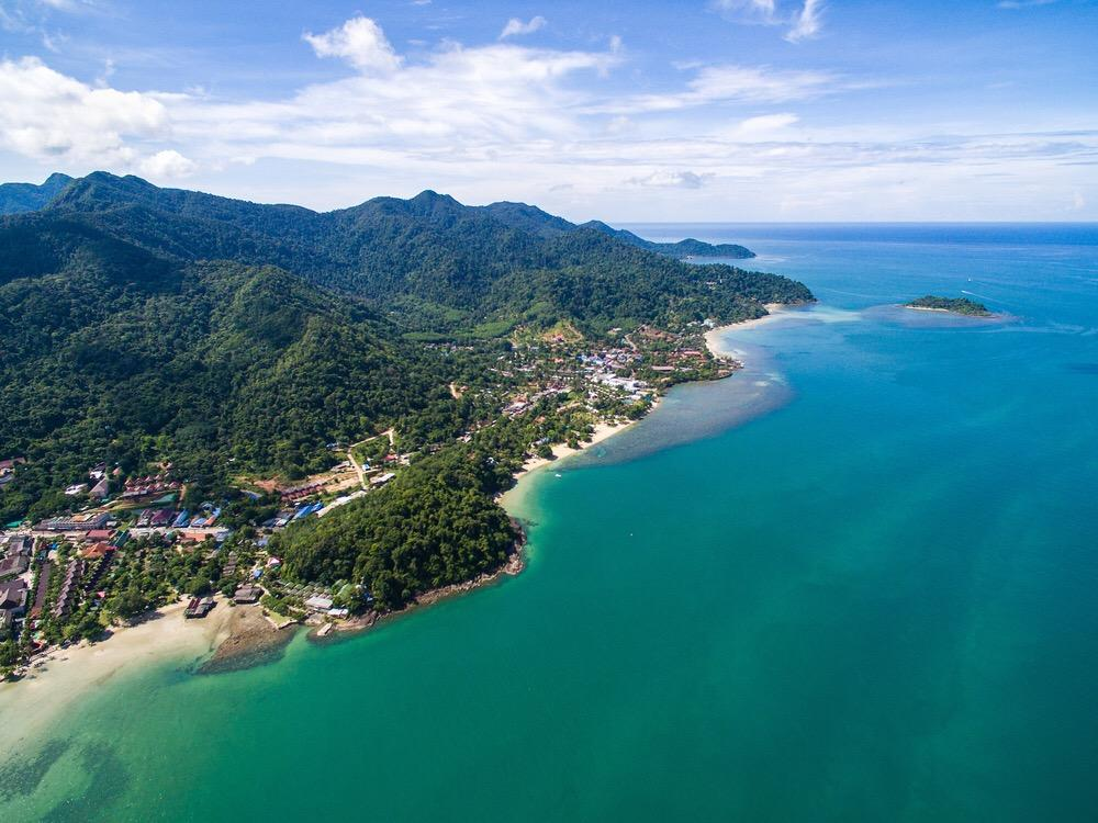 beautiful island of Koh Chang in Thailand