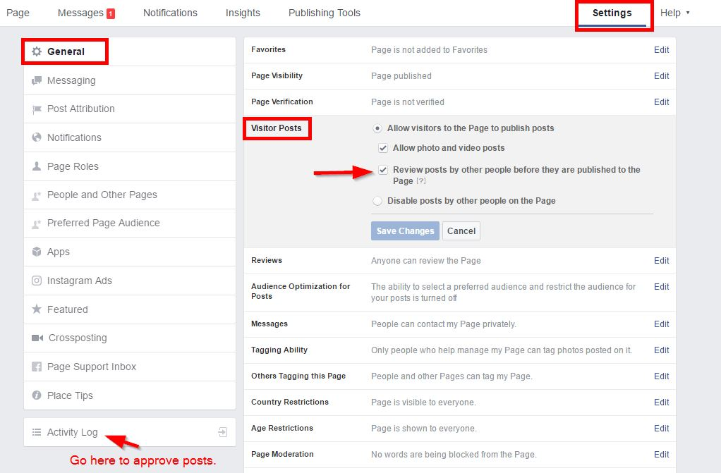 How to Make Posts to Your Facebook Page Only Appear After You