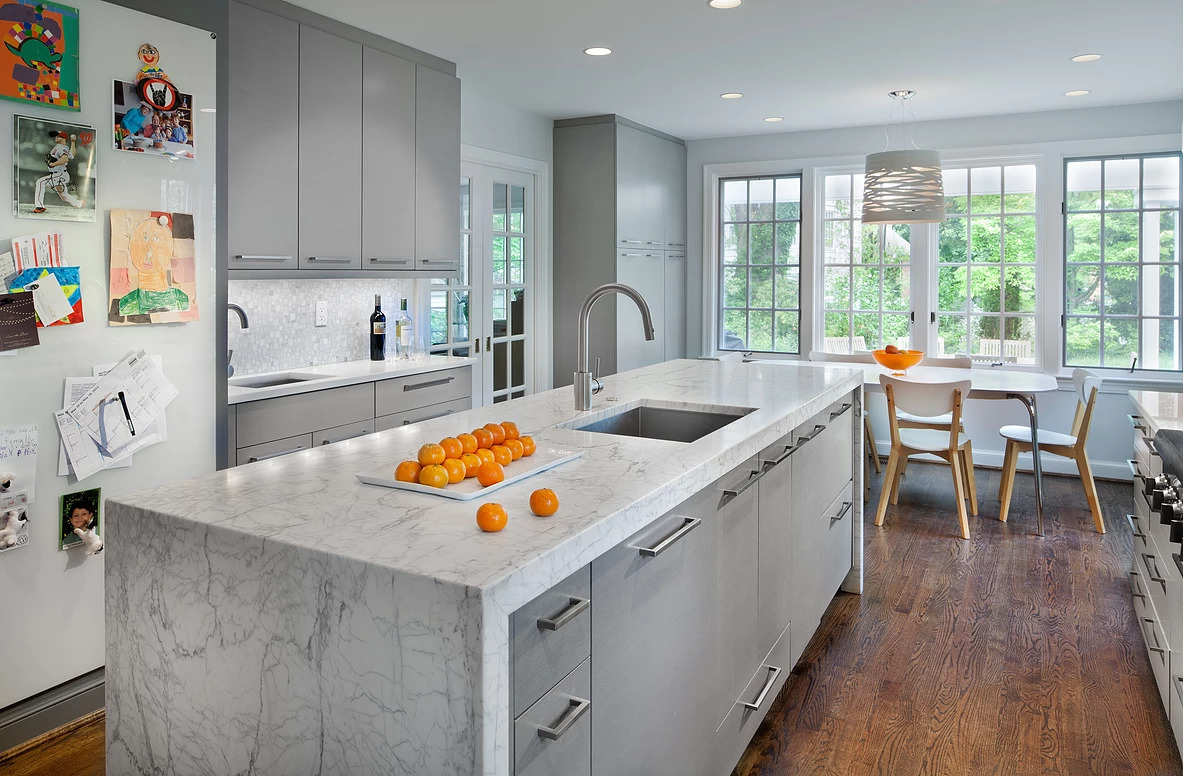 Bethesda MD Contemporary Kitchen Remodel