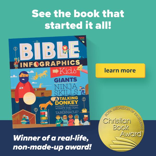 Bible Infographics for Kids Volume 1