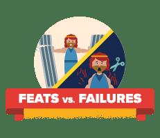 Feats vs Failures